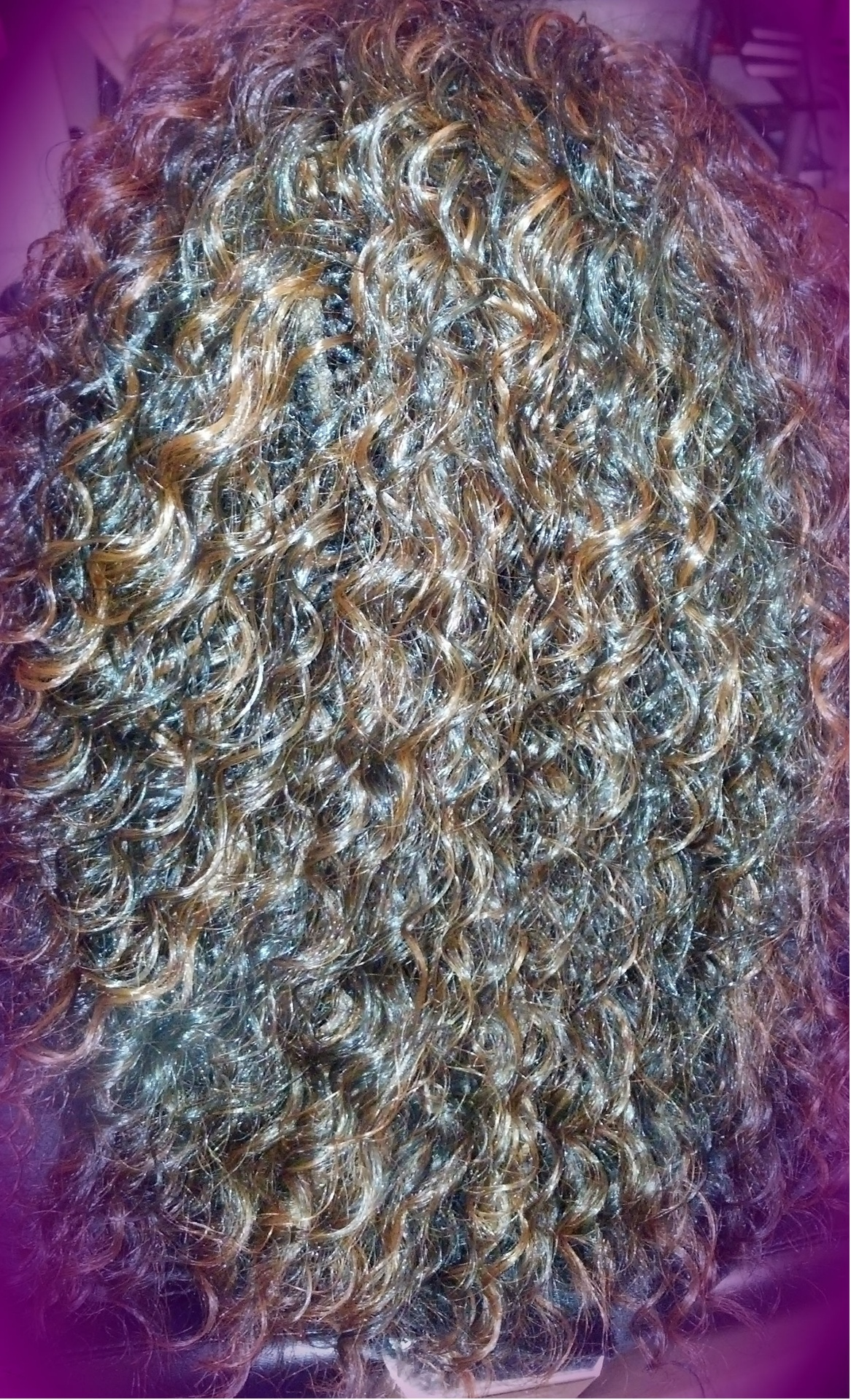 Micro treebraid (one layer) with crochet edges
