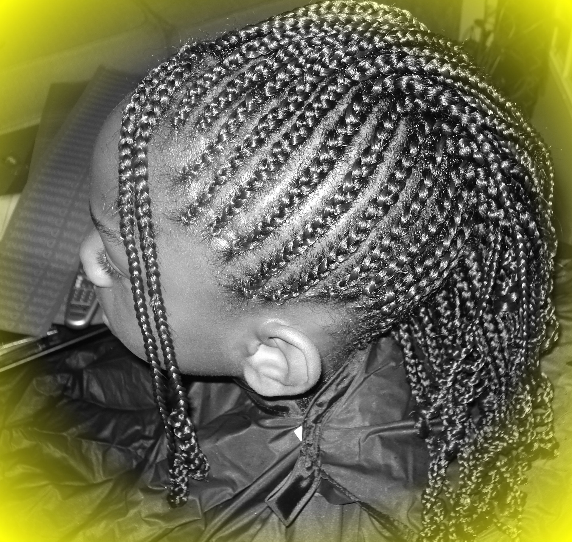Cornrow Mohawk