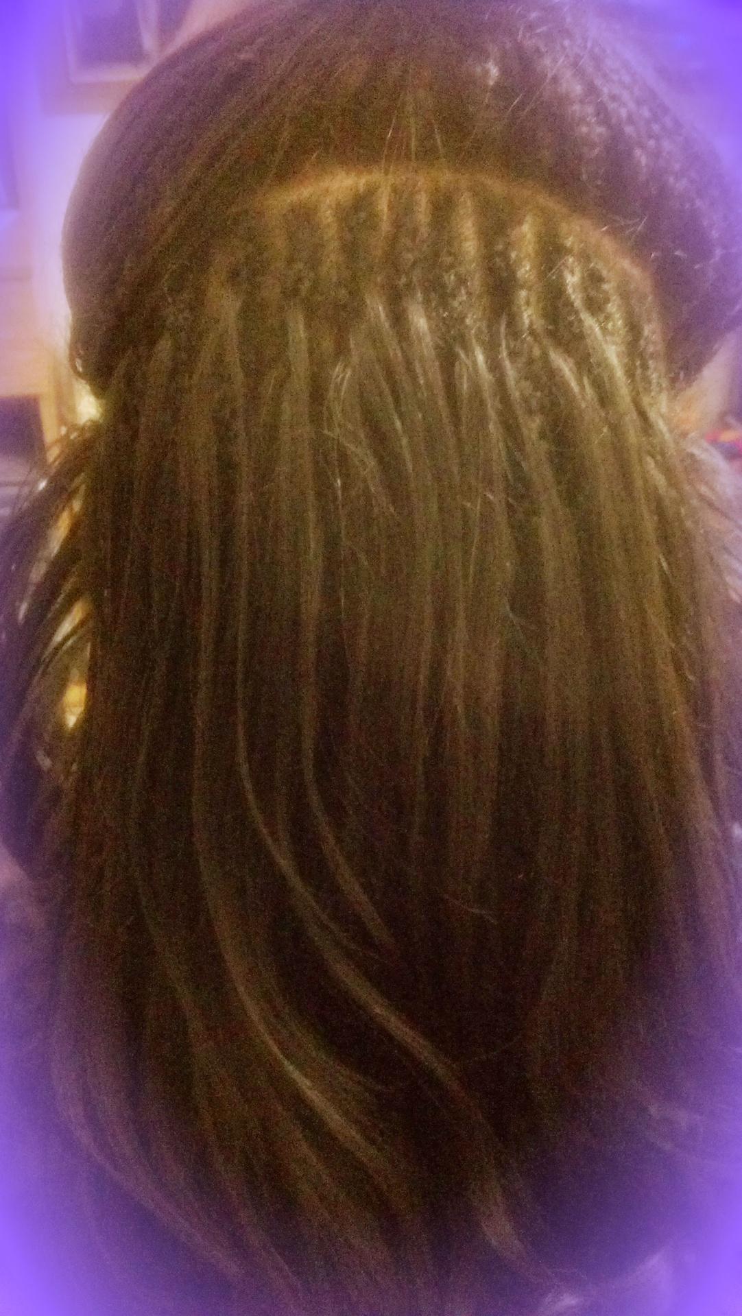 Two Layer regTree Braid with 100% human hair and crochet braid edge
