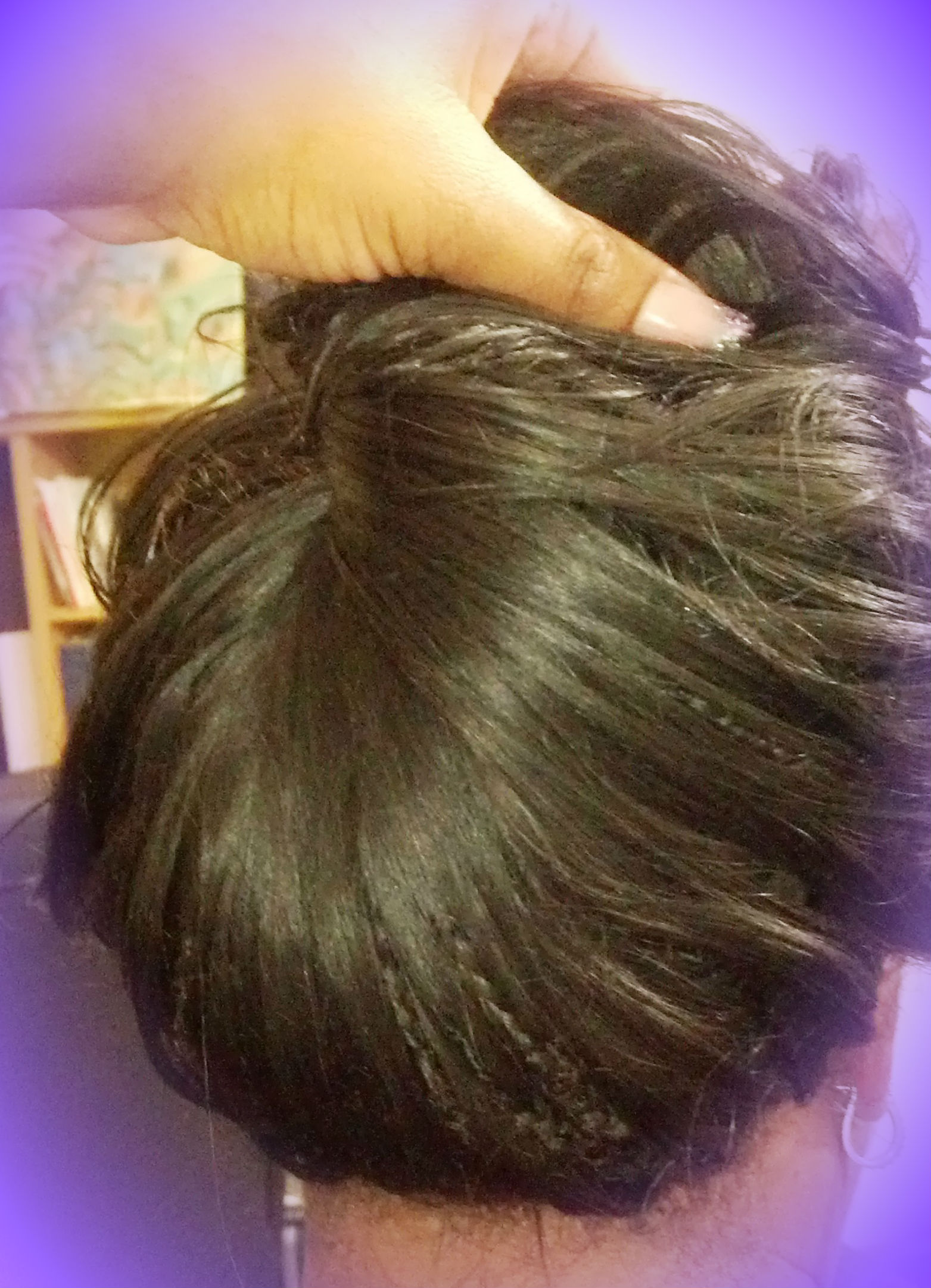 Two Layer Reg Tree Braid with 100% human hair and crochet braid edge