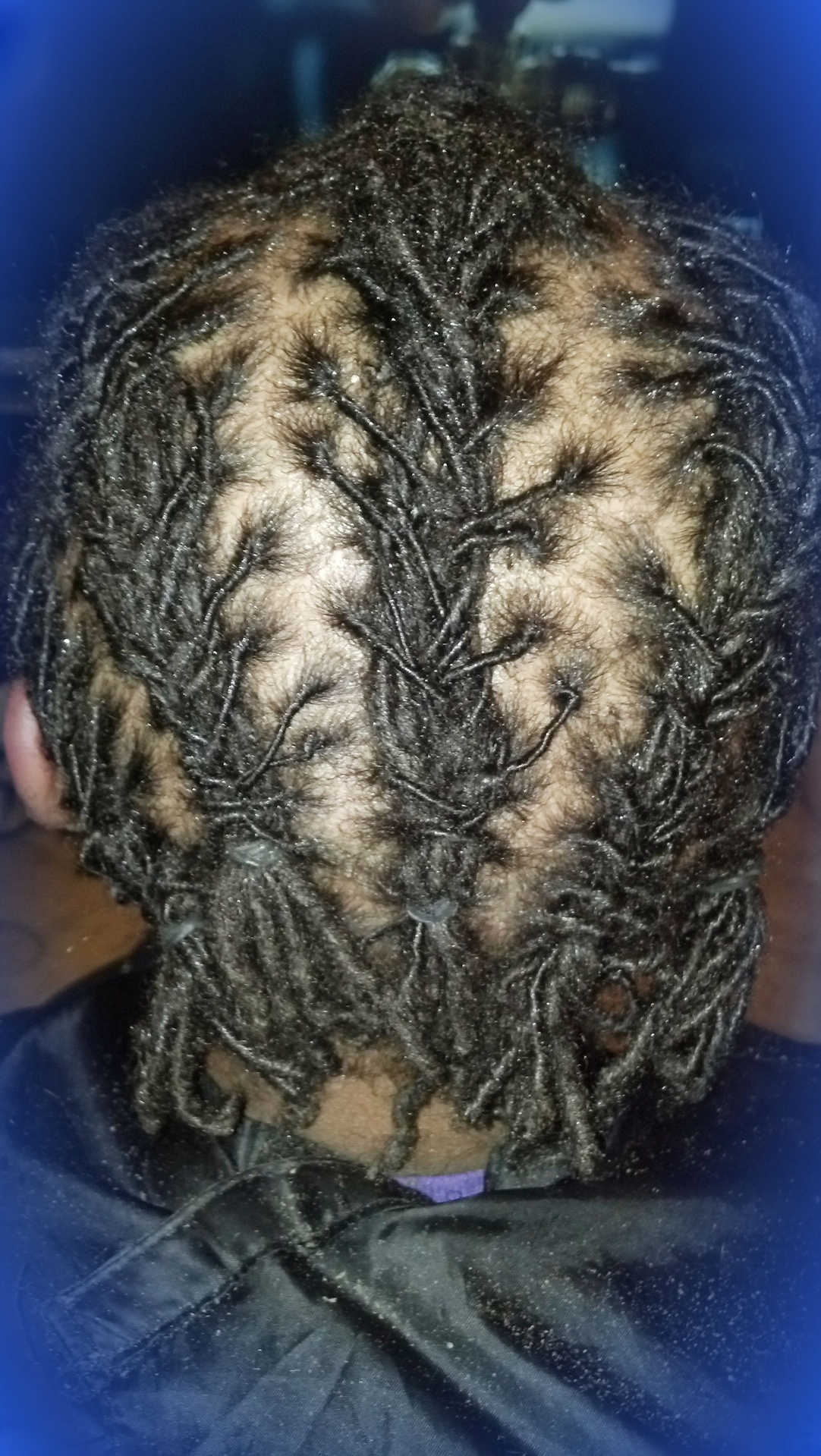 Cornrow locs