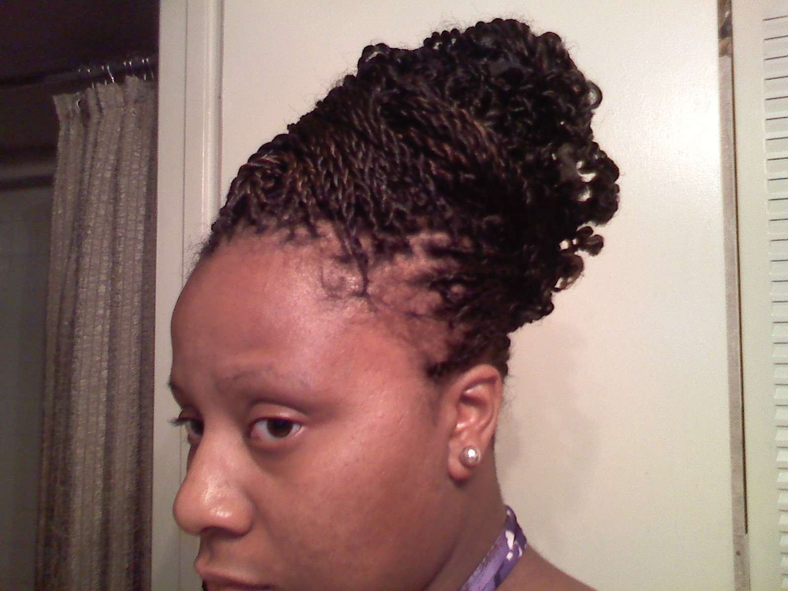 senegalese twist updo hairstyles : Senegalese Twist Hairstyle Pictures to pin on Pinterest